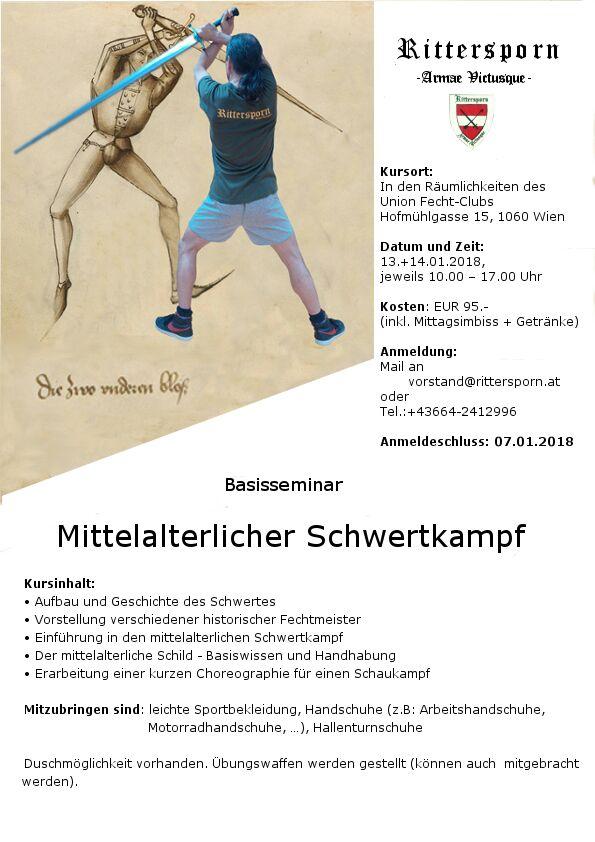 Schwertkampfseminar